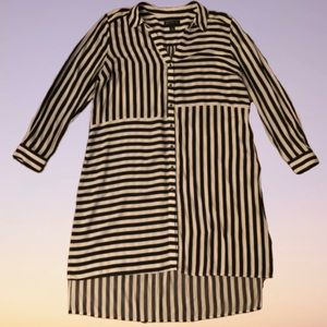 INC INTERNATIONAL CONCEPTS Striped Tunic Dress XL